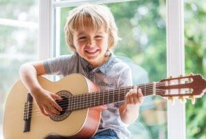 How to Start Guitar Lessons For Preschool Aged Children
